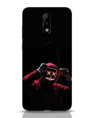 Shop Mask Man Nokia 5.1 Plus Mobile Cover-Front