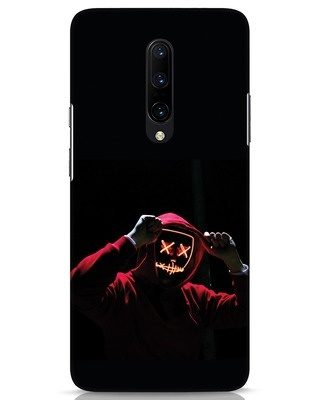 Shop Mask Man OnePlus 7 Pro Mobile Cover-Front