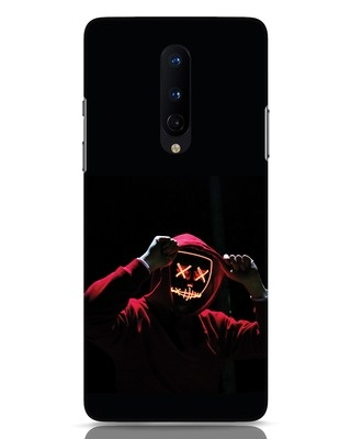 Shop Mask Man OnePlus 8 Mobile Cover-Front
