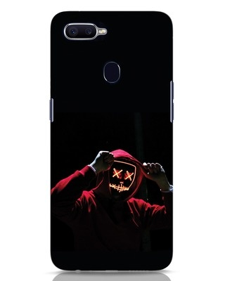 Shop Mask Man Oppo F9 Pro Mobile Cover-Front