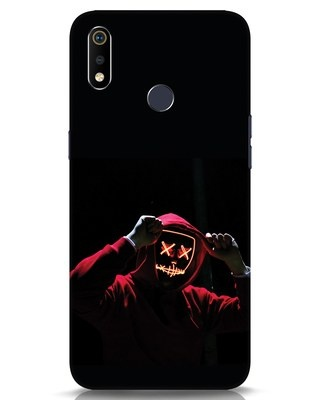Shop Mask Man Realme 3i Mobile Cover-Front