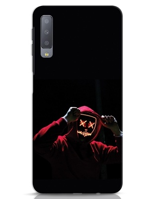 Shop Mask Man Samsung Galaxy A7 Mobile Cover-Front
