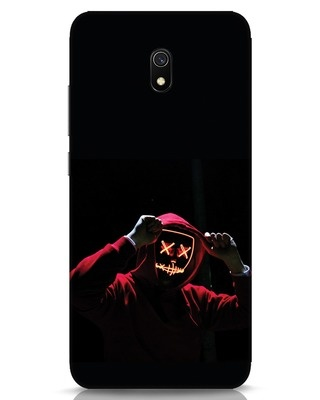 Shop Mask Man Xiaomi Redmi 8A Mobile Cover-Front