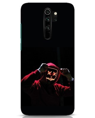 Shop Mask Man Xiaomi Redmi Note 8 Pro Mobile Cover-Front