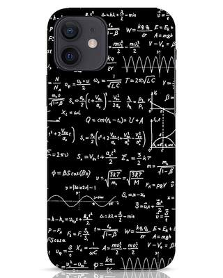 Shop Maths iPhone 12 Mobile Cover-Front