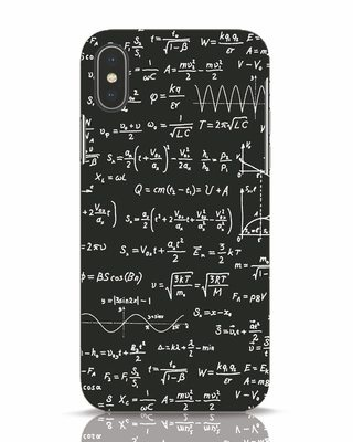 Shop Maths iPhone X Mobile Cover-Front