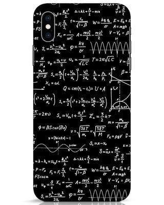 Shop Maths iPhone XS Max Mobile Cover-Front