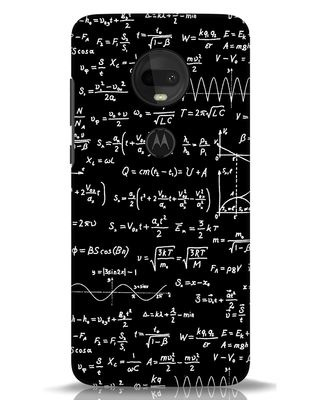 Shop Maths Moto G7 Mobile Cover-Front