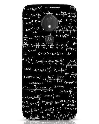 Shop Maths Moto G7 Power Mobile Cover-Front