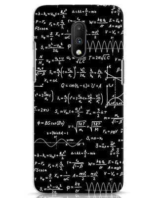Shop Maths OnePlus 7 Mobile Cover-Front