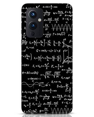 Shop Maths OnePlus 9 Mobile Cover-Front