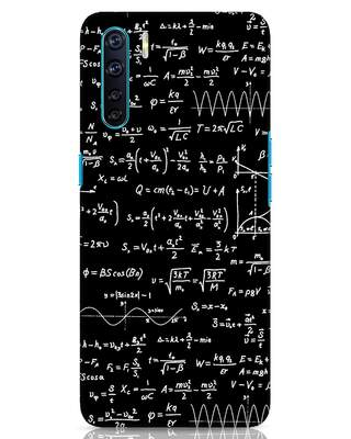 Shop Maths Oppo F15 Mobile Cover-Front