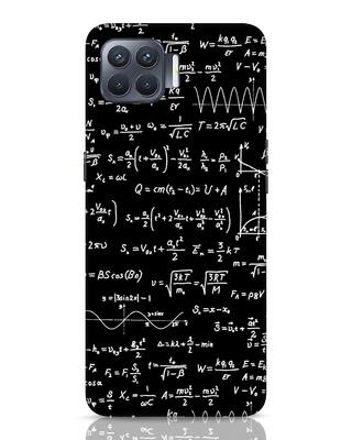 Shop Maths Oppo F17 Pro Mobile Cover-Front