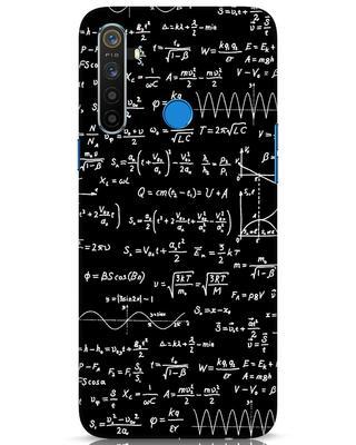 Shop Maths Realme 5 Mobile Cover-Front