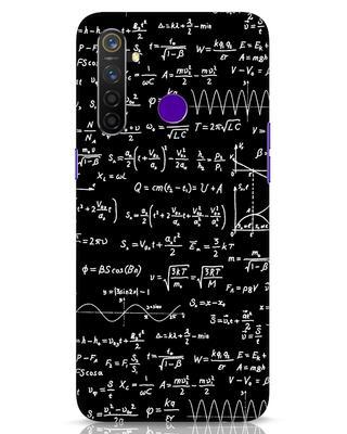 Shop Maths Realme 5 Pro Mobile Cover-Front