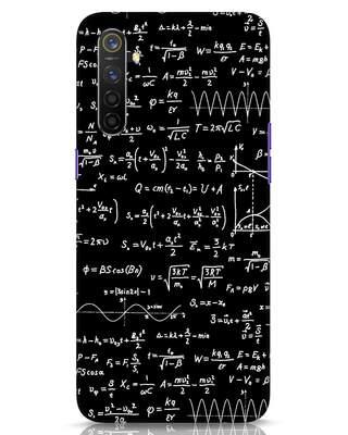 Shop Maths Realme 6 Mobile Cover-Front