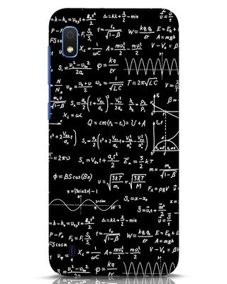 Shop Maths Samsung Galaxy A10 Mobile Cover-Front