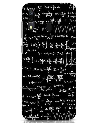 Shop Maths Samsung Galaxy A30 Mobile Cover-Front
