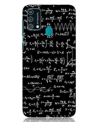 Shop Maths Samsung Galaxy F41 Mobile Cover-Front
