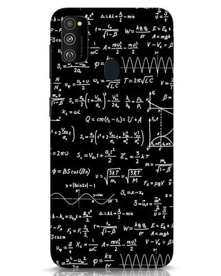 Shop Maths Samsung Galaxy M30s Mobile Cover-Front