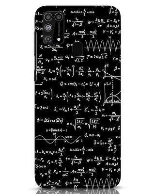 Shop Maths Samsung Galaxy M31 Mobile Cover-Front