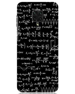 Shop Maths Xiaomi Poco M2 pro Mobile Cover-Front