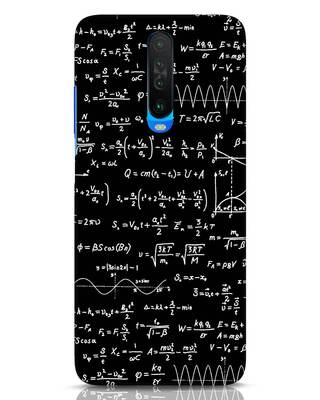 Shop Maths Xiaomi Poco X2 Mobile Cover-Front