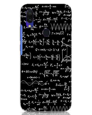 Shop Maths Xiaomi Redmi 7 Mobile Cover-Front