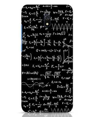 Shop Maths Xiaomi Redmi 8A Dual Mobile Cover-Front