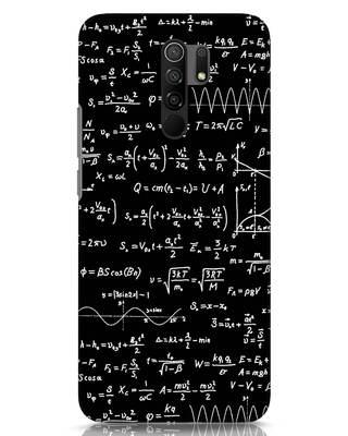 Shop Maths Xiaomi Redmi 9 Prime Mobile Cover-Front