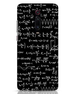 Shop Maths Xiaomi Redmi K20 Pro Mobile Cover-Front