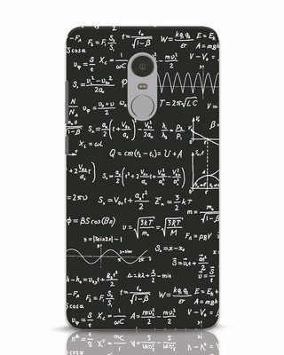 Shop Maths Xiaomi Redmi Note 4 Mobile Cover-Front