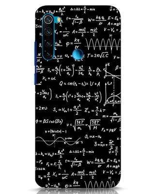 Shop Maths Xiaomi Redmi Note 8 Mobile Cover-Front