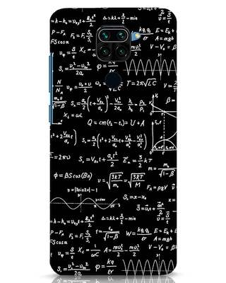 Shop Maths Xiaomi Redmi Note 9 Mobile Cover-Front