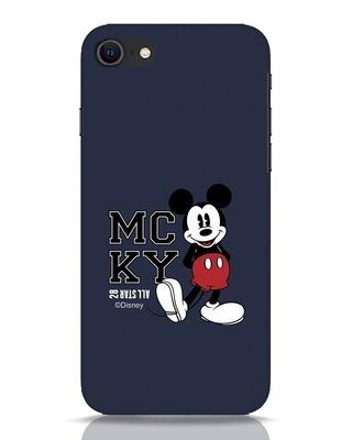 Shop Mcky iPhone SE 2020 Mobile Cover (DL)-Front