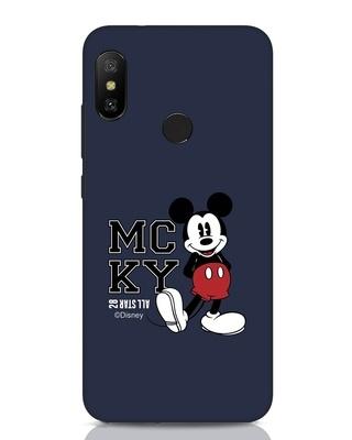 Shop Mcky Xiaomi Redmi Note 6 Pro Mobile Cover (DL)-Front