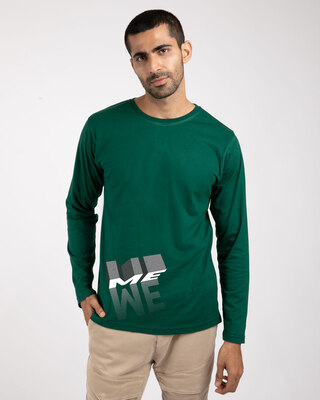 Shop Me And We Full Sleeve T-Shirt-Front