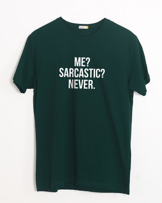 Buy Me Sarcastic Never Half Sleeve T-Shirt Online India @ Bewakoof.com