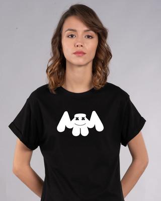 Shop Mello New Boyfriend T-Shirt-Front