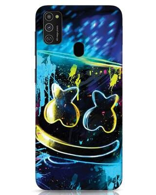 Shop Mellow Lights Samsung Galaxy M21 Mobile Cover-Front