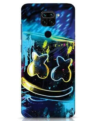 Shop Mellow Lights Xiaomi Redmi Note 9 Mobile Cover-Front