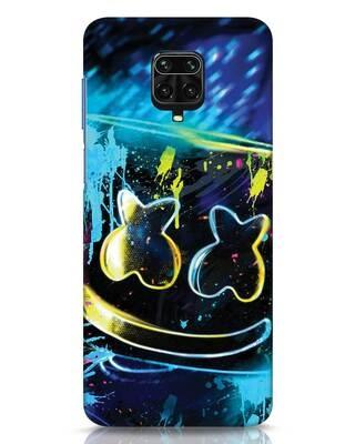 Shop Mellow Lights Xiaomi Redmi Note 9 Pro Mobile Cover-Front