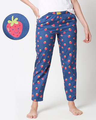 Shop Melon & Berries All Over Printed Pyjama-Front