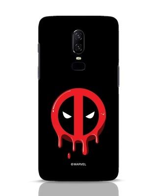 Shop Melting Deadpool OnePlus 6 Mobile Cover (DPL)-Front