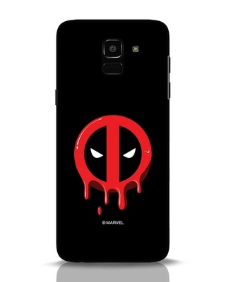 Shop Melting Deadpool Samsung Galaxy J6 Mobile Cover (DPL)-Front