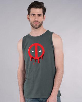 Shop Melting Deadpool Vest (DPL)-Front