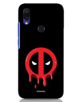 Shop Melting Deadpool Xiaomi Redmi 7 Mobile Cover (DPL)-Front