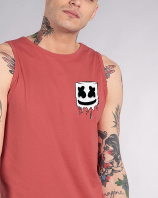 Shop Melting Mello Vest-Front