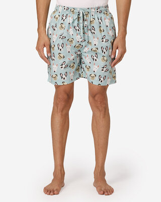 Shop Fluffalump Men All Over Printed Boxers-Front