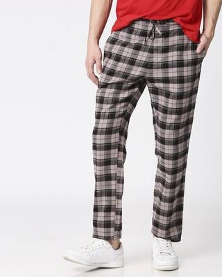 Shop Men Checks Pyjama-Front